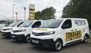 Towbar2U fleet